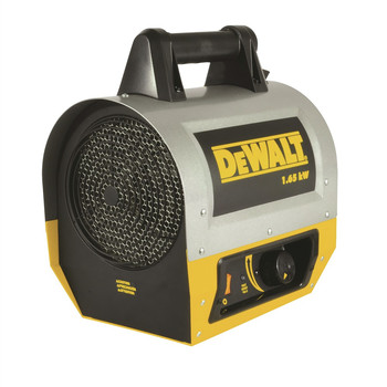 Dewalt F340635 1.65 kW 5,630 BTU Electric Forced Air Portable Heater image number 1