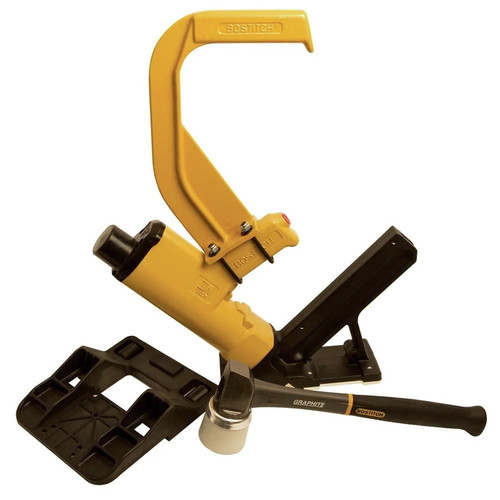 Factory Reconditioned Bostitch MIIIFN-R 2 in. Pneumatic Hardwood Flooring Cleat Nailer image number 0
