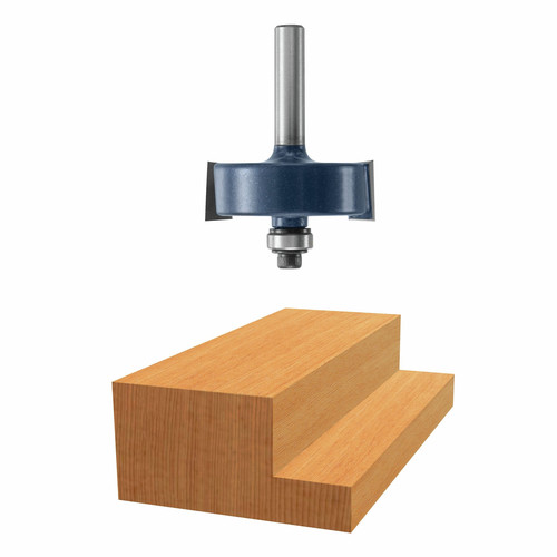 Bosch 85218MC 1-1/4 in. x 1/2 in. Rabbeting Carbide-Tipped Router Bit