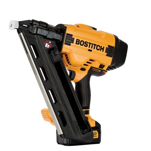 Bostitch BCF30PTM1 20V MAX 4.0 Ah Lithium-Ion 30 Degree Paper Tape Framing Nailer Kit image number 0
