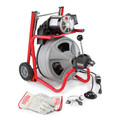Ridgid K-400 AF w/C-32 IW 3/8 in. x 75 ft. Autofeed Wheeled Drum Machine