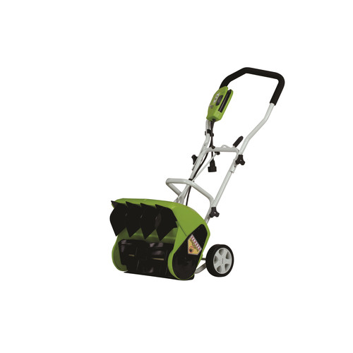 Greenworks 26022 9 Amp 16 in. Electric Snow Thrower image number 0