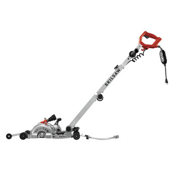 SKILSAW SPT79A-10 7 in. MEDUSAW Walk Behind Worm Drive for Concrete