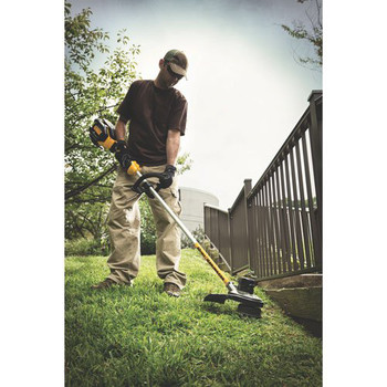 Factory Reconditioned Dewalt DCST990H1R 40V MAX 6.0 Ah Cordless Lithium-Ion XR Brushless 15 in. String Trimmer image number 3