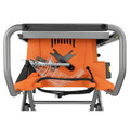 Factory Reconditioned Ridgid ZRR4513 15 Amp 10 in. Portable Table Saw with Mobile Stand image number 11