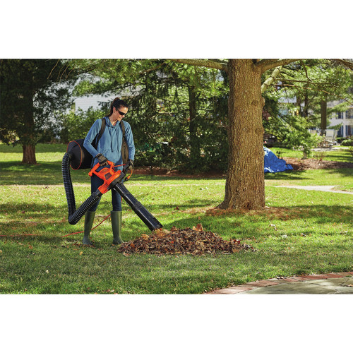 Black & Decker BEBL7000 3-in-1 VACPACK 12 Amp Leaf Blower, Vacuum and Mulcher image number 12