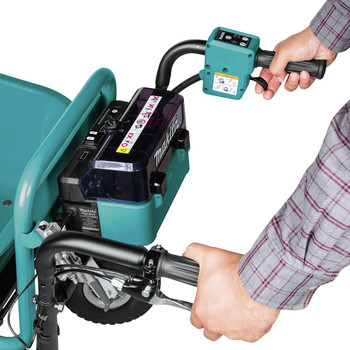 Makita XUC01X2 18V X2 LXT Brushless Cordless Power-Assisted Flat Dolly, (Tool Only) image number 1