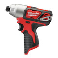Milwaukee 2494-22 M12 Brushed Lithium-Ion 3/8 in. Cordless Drill Driver/ 1/4 in. Impact Driver Combo Kit (1.5 Ah) image number 3