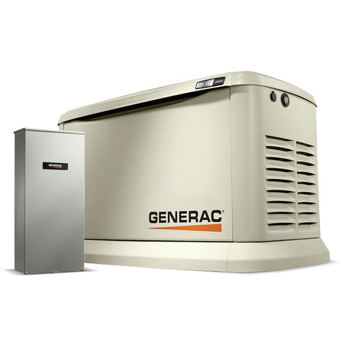 Generac 7040 20/18kW Air-Cooled 200SE Synergy Standby Generator with Mobile Link (Non-CuL)