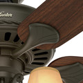 Hunter 53094 54 in. Cortland New Bronze Ceiling Fan with Light image number 10