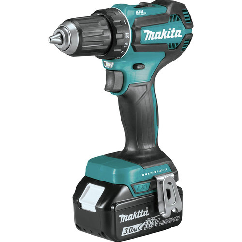 Makita XT335S 18V LXT 3.0 Ah Lithium-Ion Brushless 3-Piece Combo Kit image number 1