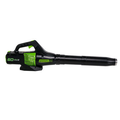 Factory Reconditioned Greenworks 2402302-RC Pro 60V Max Lithium Ion 540-CFM 140-MPH Heavy-Duty Brushless Cordless Electric Leaf Blower (Bare Tool)