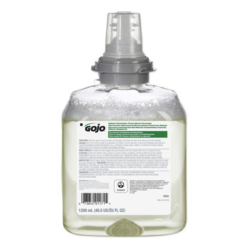 GOJO Industries 5665-02 1200 ml Unscented TFX Green Certified Foam Hand Cleaner Refill