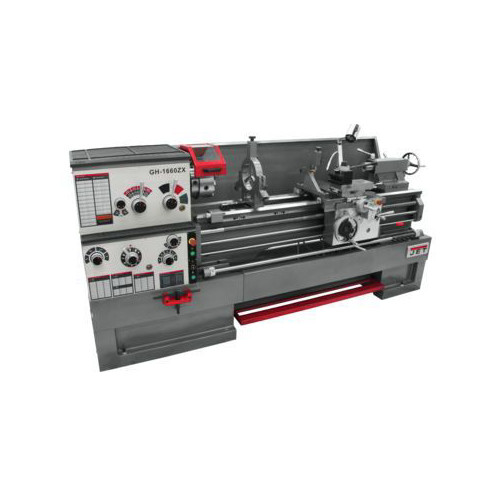 JET GH-1660ZX Lathe with 300S DRO and Taper Attachment image number 0