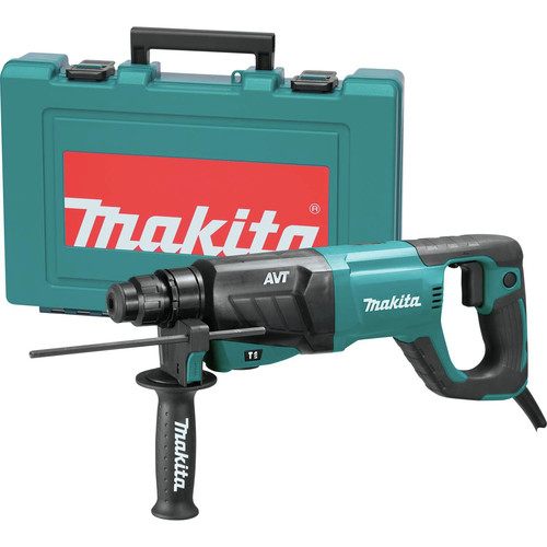 Factory Reconditioned Makita HR2641-R 1 in. AVT SDS-Plus D-Handle Rotary Hammer