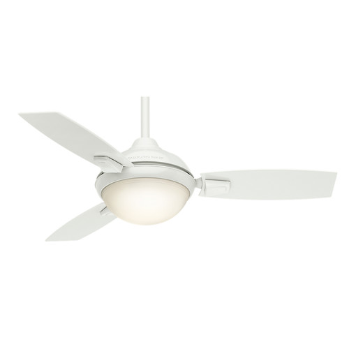 Casablanca 59153 44 in. Verse Fresh White Ceiling Fan with Light and Remote