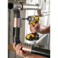 Factory Reconditioned Dewalt DCF885C2R 20V MAX Lithium-Ion 1/4 in. Cordless Impact Driver Kit (1.5 Ah) image number 4