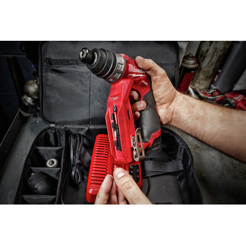 Milwaukee 2505-22 M12 FUEL Lithium-Ion 3/8 in. Cordless Installation Drill Driver Kit (2 Ah) image number 26