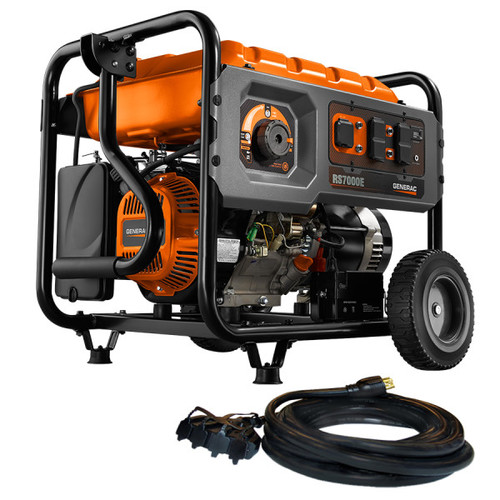 Factory Reconditioned Generac 6673R 7,000 Watt Portable Generator with Electric Start