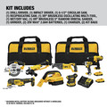 Dewalt DCK883D2 20V MAX Brushless Compact Lithium-Ion Cordless 8-Tool Combo Kit (2 Ah) image number 1