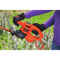 Black & Decker BEHTS125 16 in. SAWBLADE Electric Hedge Trimmer (Tool Only) image number 7
