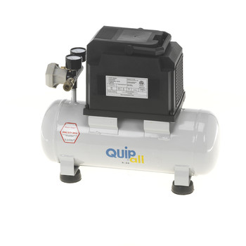 Quipall 2-.33 Oil Free Compressor, 1/3 HP, 2 Gallon,Steel Tank