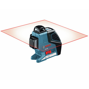 Factory Reconditioned Bosch GLL3-80-RT 360 Degree 3-Plane Leveling and Alignment Line Laser image number 3