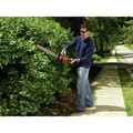 Black & Decker LHT2220 20V MAX Cordless Lithium-Ion 22 in. Dual Action Electric Hedge Trimmer image number 8