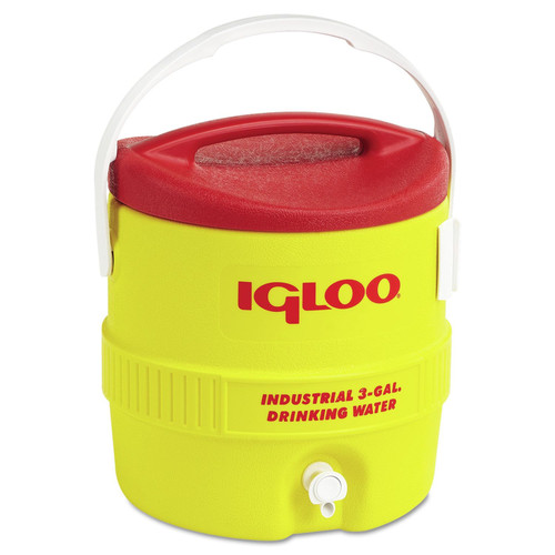 Igloo 431 3GAL RED/YELLOW COOLER PLASTIC IND image number 0