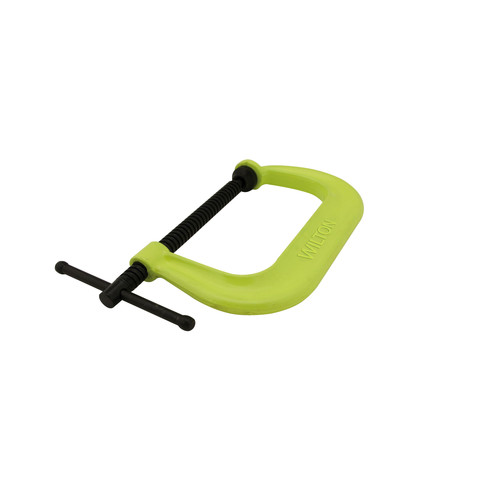 Wilton 14300 400 Series 2-1/8 in. Jaw Capacity Hi-Vis Safety C-Clamp