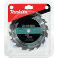 Makita T-01395 6-1/2 in. 16T Carbide-Tipped General Contractor Saw Blade image number 0