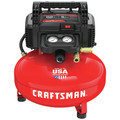 Factory Reconditioned Craftsman CMEC6150R 0.8 HP 6 Gallon Oil-Free Pancake Air Compressor image number 1