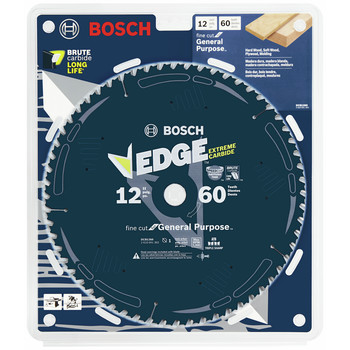 Bosch DCB1260 Daredevil 12 in. 60 Tooth Fine Finish Circular Saw Blade image number 1