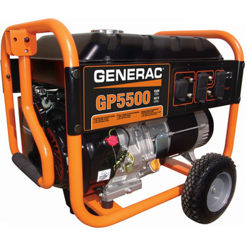 Factory Reconditioned Generac 5975R GP Series 5,500 Watt Portable Generator image number 0