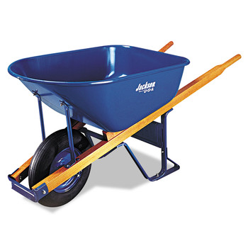 Jackson Professional M6FFBB 6 cu-ft. Flat-Free Wheel Contractor Wheelbarrow image number 0