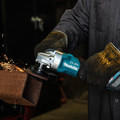 Makita GAG01Z 40V Max XGT Brushless Lithium-Ion 4-1/2 in./5 in. Cordless Cut-Off/Angle Grinder with Electric Brake (Tool Only) image number 5