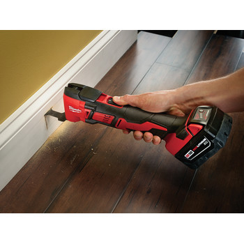 Milwaukee 2626-20 M18 18V Lithium-Ion Cordless Multi-Tool (Tool Only) image number 2