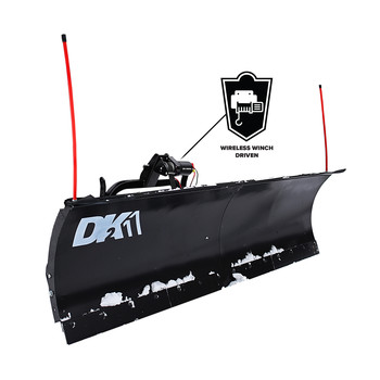 Detail K2 AVAL8826 Avalanche 88 in. x 26 in. Heavy Duty UNIVERSAL T-Frame Snow Plow Kit with 3000 lbs. EW8020 Winch and EWX004 Wireless Remote image number 1