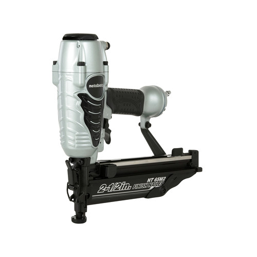 Metabo HPT NT65M2SM 16-Gauge 2-1/2 in. Oil-Free Straight Finish Nailer Kit image number 0