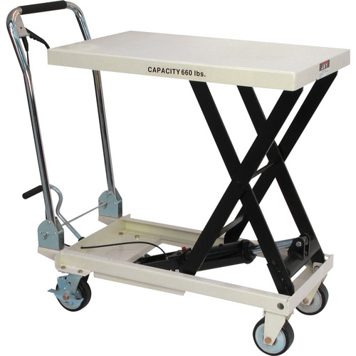 JET SLT-660F 660 lb. SLT Series Scissor Lift Table image number 0