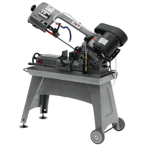 JET J-3230 5 in. x 8 in. Horizontal Wet Band Saw image number 0