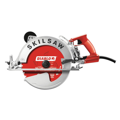 Skil SPT70WM-72 SKILSAW 15 Amp 10-1/4 in. Magnesium Worm Drive Circular Saw with Twist Lock