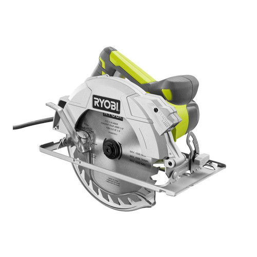Factory Reconditioned Ryobi ZRCSB144LZK 15 Amp 7-1/4 in. Heavy-Duty Circular Saw with Exactline Laser