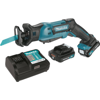 Factory Reconditioned Makita RJ03R1-R 12V MAX CXT 2.0 Ah Cordless Lithium-Ion Reciprocating Saw Kit