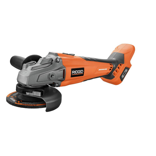 Factory Reconditioned Ridgid ZRR86041B 18V Brushless Angle Grinder (Tool Only) image number 0