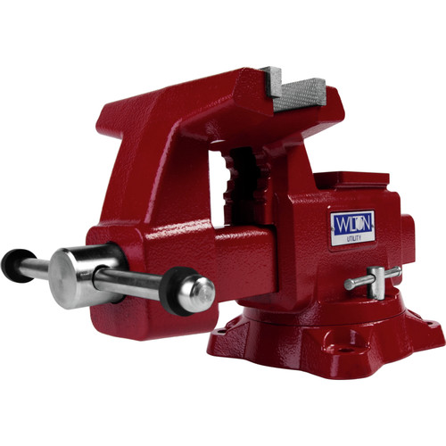 "WILTON 744 4/"" Standard Duty Mechanics Combination Vise with Swivel Base"