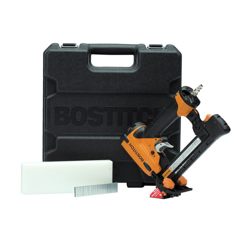 Factory Reconditioned Bostitch LHF2025K-R 20-Gauge Oil-Free Laminated Flooring Stapler