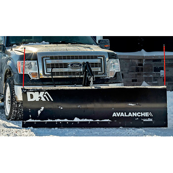 Detail K2 AVAL8219ELT Avalanche ELITE 82 in. x 19 in. Heavy Duty UNIVERSAL T-Frame Snow Plow Kit with ACT8020 Actuator and EWX004 Wireless Remote image number 3