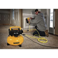 Factory Reconditioned Dewalt DWFP55126R 0.9 HP 6 Gallon Oil-Free Pancake Air Compressor image number 1
