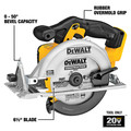 Dewalt DCS391B 20V MAX Lithium-Ion 6-1/2 in. Cordless Circular Saw (Tool Only) image number 1
